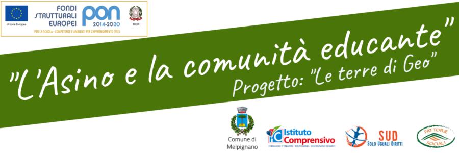 """""""L'Asino e la comunità educante"""" – progetto PON 2014-2020"""